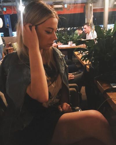 when i was in bar in Romania.