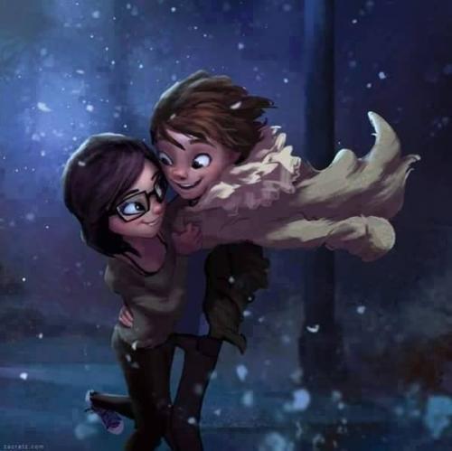 love hug photo digital art