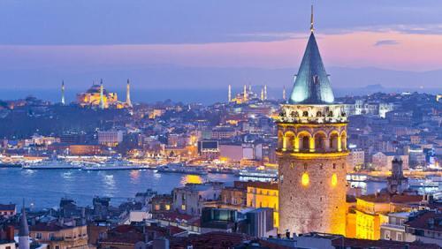 İstanbul galata kulesi fotografı